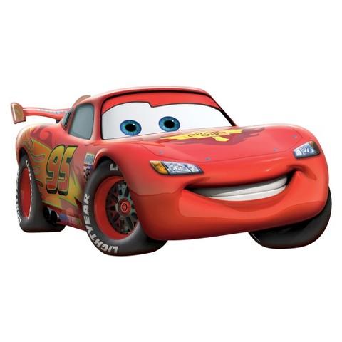 Wall Friends Cars Lightning McQueen Animated Wall Art
