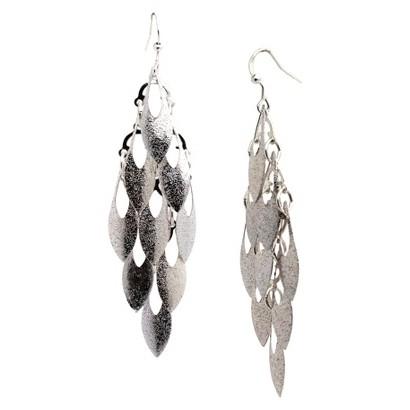 Women's Fashion Dangle Earrings - Silver