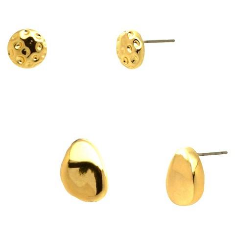 Women's Fashion Stud Earrings - Gold
