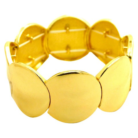 Women's Fashion Stretch Bracelet - Gold
