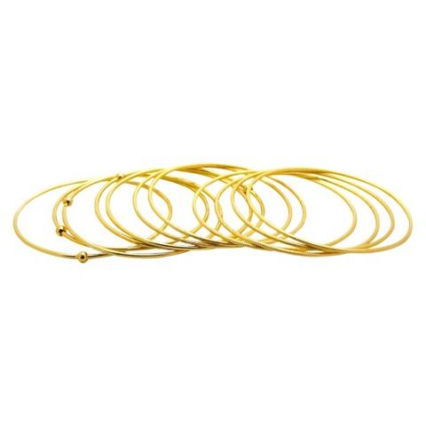 Women's Fashion Bangle Bracelet - Gold
