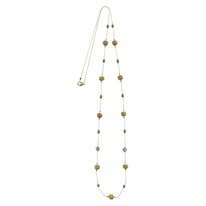"Women's Fashion Long Necklace - Gold(49"")"