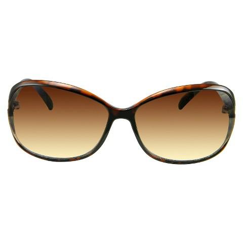 Women's Butterfly Sunglasses - Brown