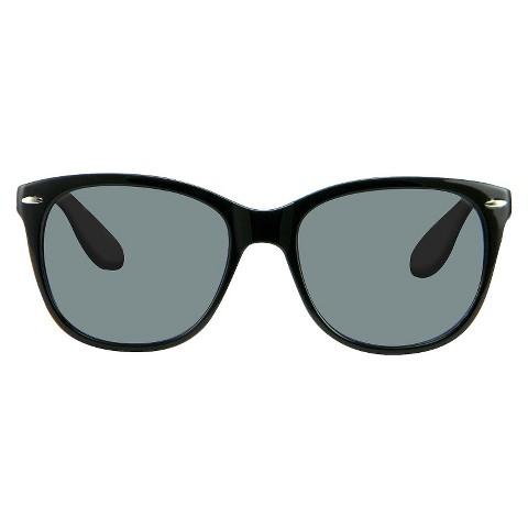 Women's Retro Square Sunglasses - Black