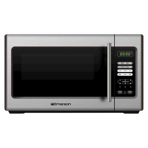 Emerson 900-Watt Microwave - Stainless Steel (MW9338SB)