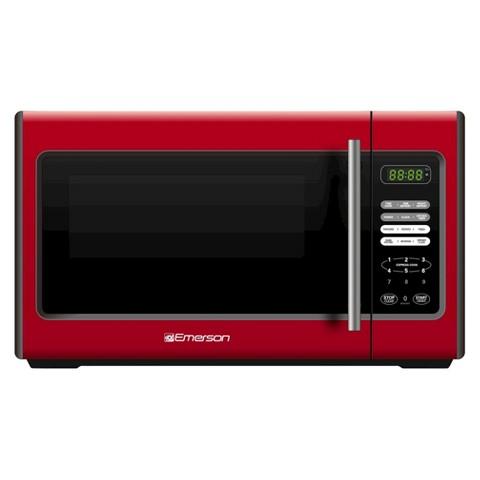 Emerson 900-Watt Microwave - Red (MW9338RD)