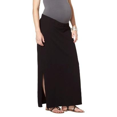 Maternity Knit Maxi Skirt Black-Liz Lange® for Target®