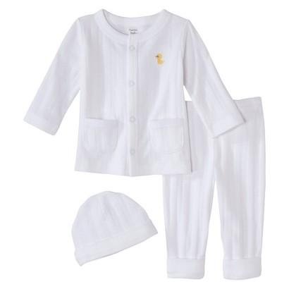 PRECIOUS FIRSTS™Made by Carters® Newborn 3 Piece Set - White