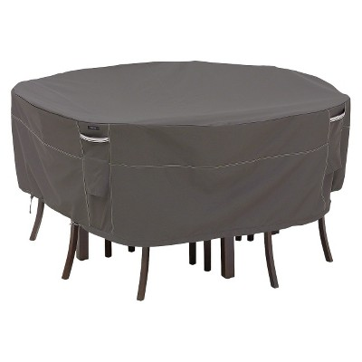 Ravenna Round Patio Table and Chair Set Furniture Cover - Large