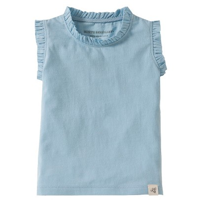 Burt's Bees Baby™ Toddler Girls' Ruffle Tank