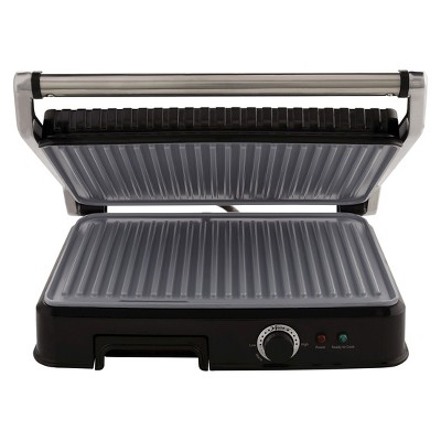 Oster® EX L DuraCeramic™ Panini Maker and Indoor Grill, CKSTPM6001-ECO
