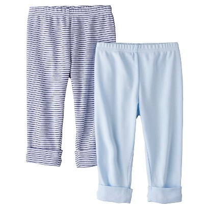 PRECIOUS FIRSTS™Made by Carters® Newborn Boys' 2 Pack Pant - Blue