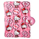 Hello Kitty Travel Pillow and Throw Set