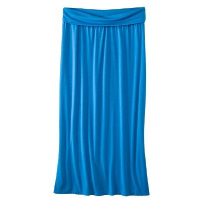 Plus Size Fold Over Waist Maxi Skirt-Mossimo Supply Co
