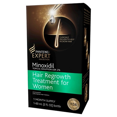 Pantene Minoxidil Topical Solution USP, 2% Hair Regrowth Treatment For Women