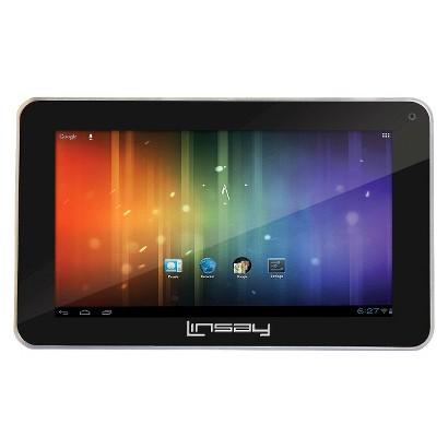 """LINSAY F-7HD 7"""" Tablet - Black (4LIN01885)"""