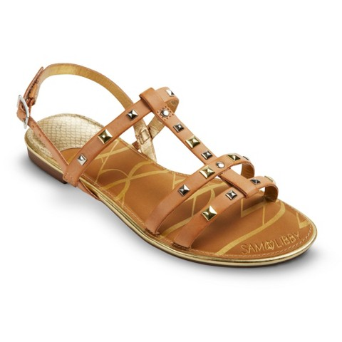 Women's Sam & Libby Hope Studded Sandals - Assorted Colors