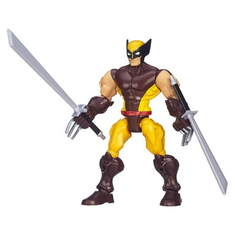 Marvel Super Hero Mashers -- Wolverine Action Figure