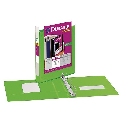 "Avery 1.5"" Durable View Binder - Green"