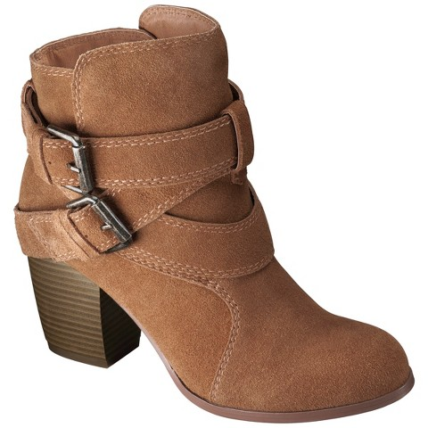 s genuine suede strappy boots as target