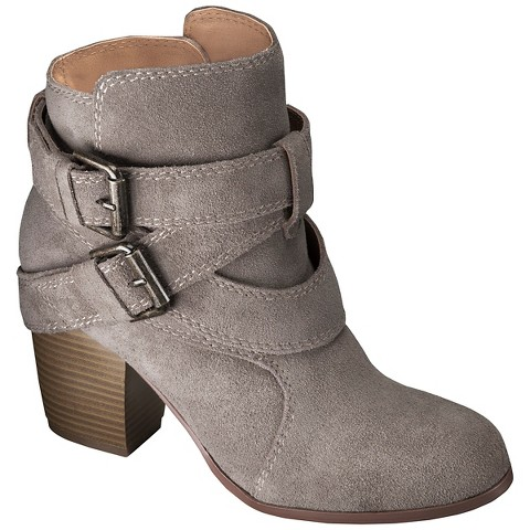 s genuine suede strappy boots assorted colors