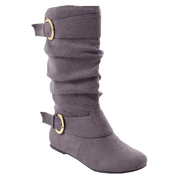 Womens Adi Designs Slouchy Faux Suede Boot - Assorted Colors