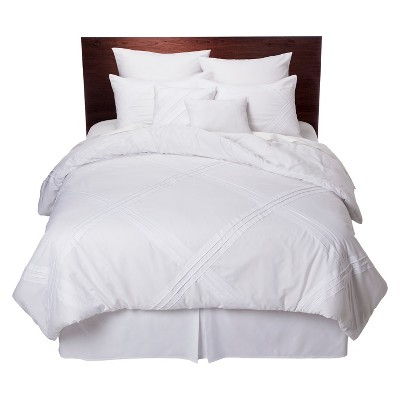 Fabiana 8 Piece Comforter Set - White (Queen)