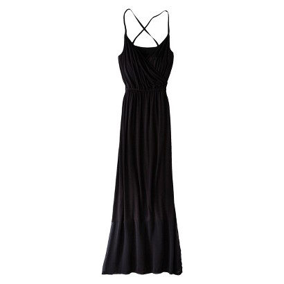 Mossimo® Petites Sleeveless Crisscross Chiffon Maxi Dress - Assorted Colors