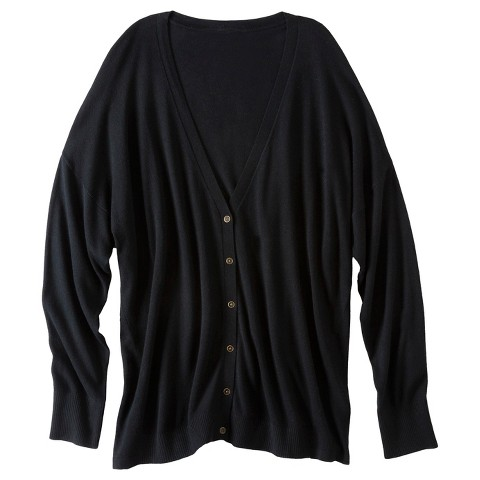 Women's Plus Size Long Sleeve Cardigan Sweater-Pure Energy