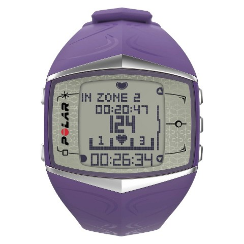 Polar Female FT60 Heart Rate Monitor - Lilac