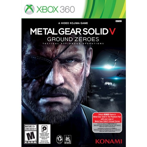 Metal Gear Solid V - Ground Zeroes (Xbox 360)