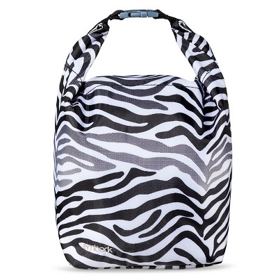 "Embark Rolltop 13"" Lunch Sack - Black/White"