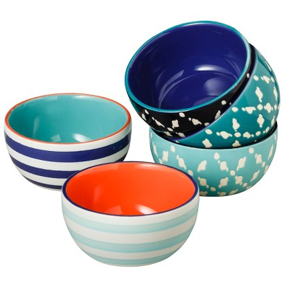 THRESHOLD™ PATTERN SMALL DIP BOWLS SET OF 5