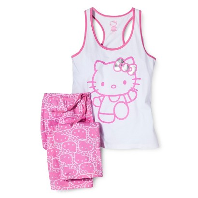 Hello Kitty Juniors' PJ Set - Pink