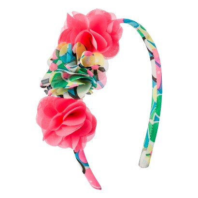 Cherokee® Infant Toddler Girls' Floral Headband - Multi/Coral