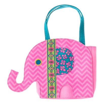 Cherokee® Infant Toddler Girls' Elephant Chevron Handbag - Pink