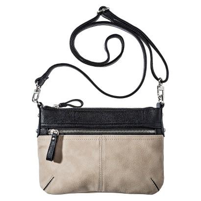 Merona® Crossbody Handbag with Removable Strap - Taupe