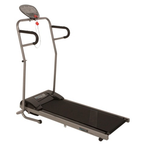 ProGear 350 Space Saver Power Walking Electric Treadmill With Heart Pulse Sensors
