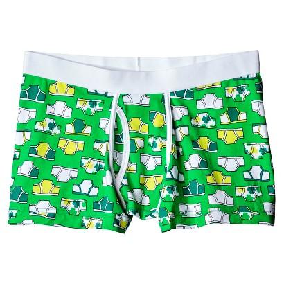 Mossimo Supply Co. Men's 1pk Clover Boxer Briefs - Green