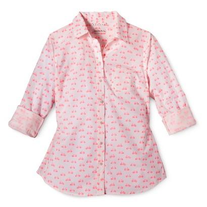 Merona® Women's Favorite Button Down Shirt - Lawn