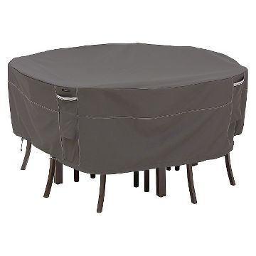 ravenna round patio table and chair set furniture cover black patio furniture covers
