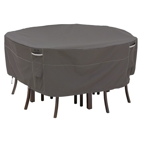 Ravenna Round Patio Table and Chair Set Furniture Cover