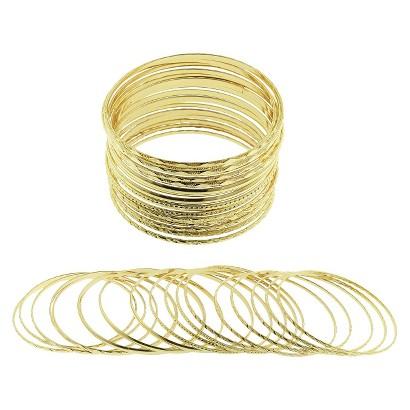 Women's Bangle Bracelet - Gold