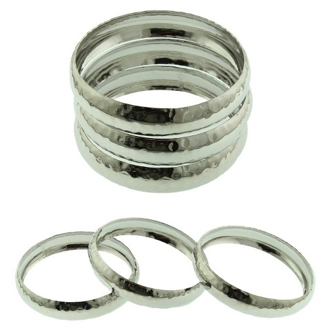 Women's Bangle Bracelet - Silver