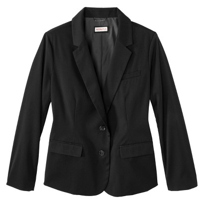 Women's Plus Size Twill Button Blazer-Merona®