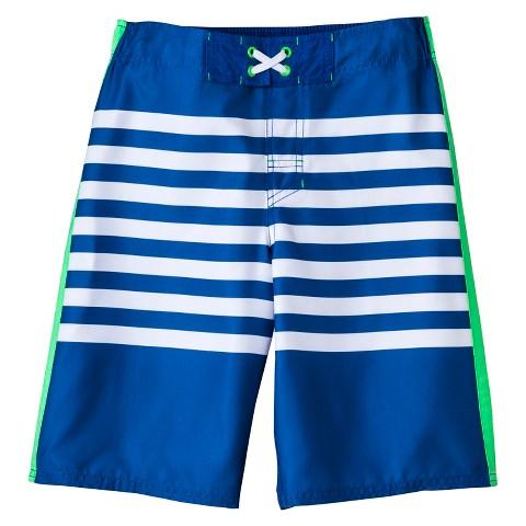 Boys' Striped Swim Trunk