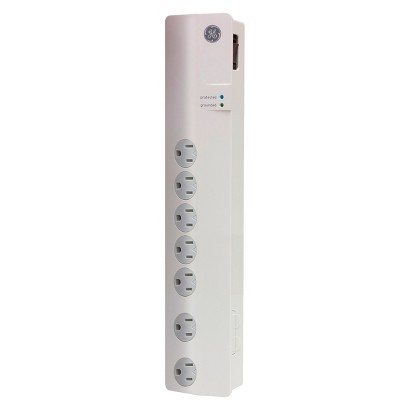 GE Surge Protector 7 Outlet  - White (10609)