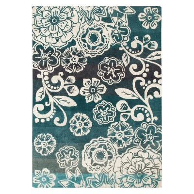 Rugs 5'X7' Boho Boutique Aqua