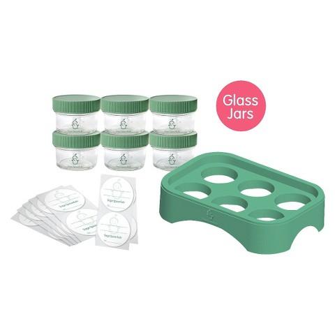 Sage Spoonfuls Glass Storage Essentials