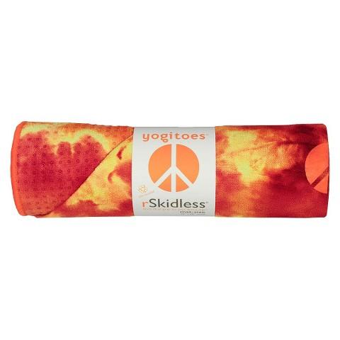 Yogitoes Unisex Skidless® Yoga Mat Towel - Sunburst (24 in. W x 68 in L)